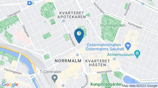 Birka Hostel Map