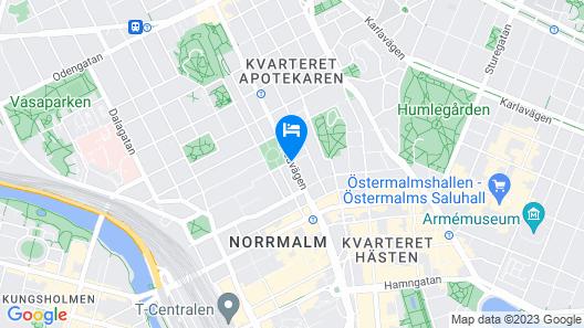 Miss Clara by Nobis, Stockholm, a Member of Design Hotels Map