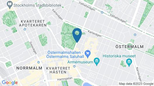 Elite Eden Park Hotel Map