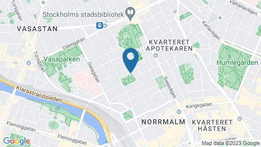 Hotel Tegnerlunden Map