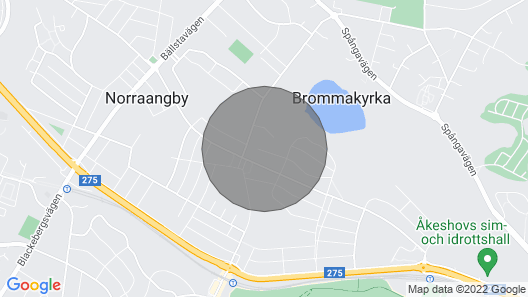 5 Person Holiday Home in Bromma Map