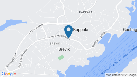 Villa Brevik Map