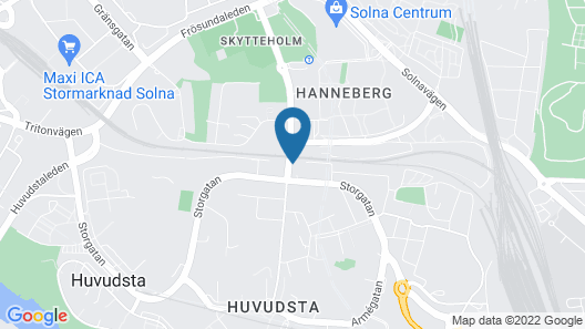 Biz Apartment Solna Map