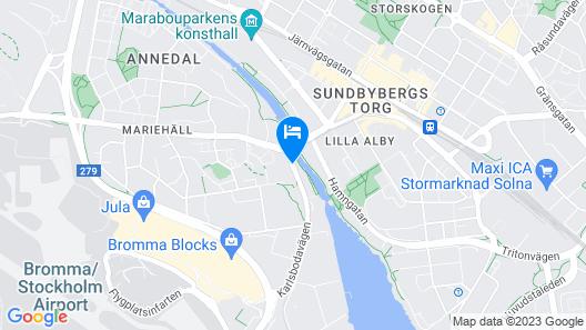 Brommavik Hotel Map