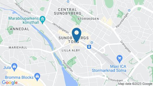 Story Hotel Signalfabriken, part of JdV by Hyatt Map