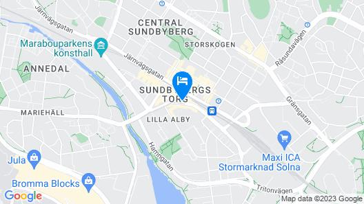 Story Hotel Signalfabriken Map