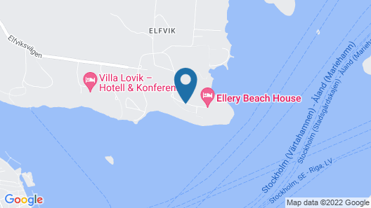 Ellery Beach House Map