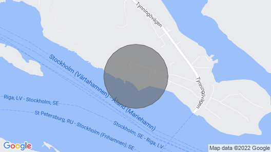 3 Bedroom Accommodation in Vaxholm Map