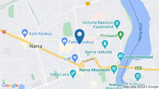 Inger Hotel Map