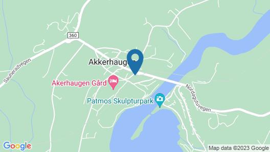 Norsjø Hotel Map