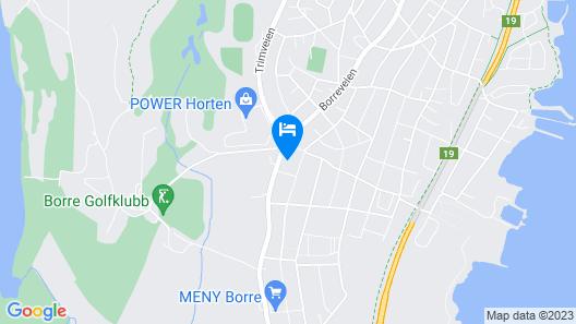 Hotel Horten Map