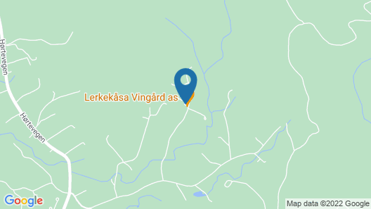 Lerkekåsa vingård Map