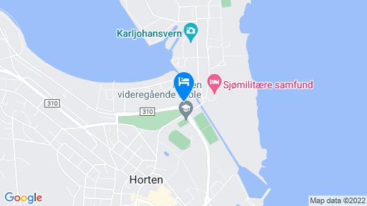 Horten Apartment Map