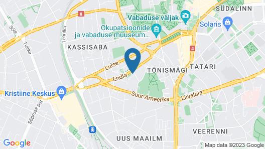 Centennial Hotel Tallinn Map