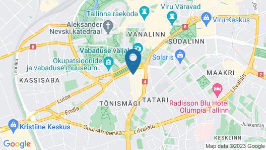 Hotel St. Barbara Map