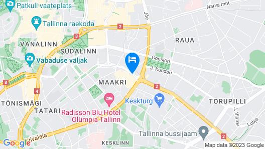 Swissotel Tallinn Map