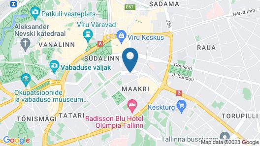 Radisson Blu Sky Hotel, Tallinn Map