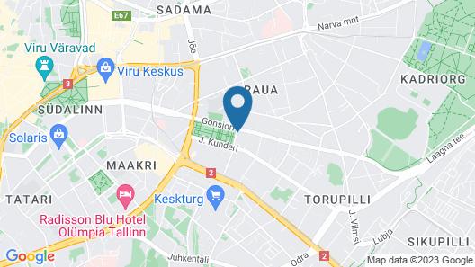Hilton Tallinn Park Map