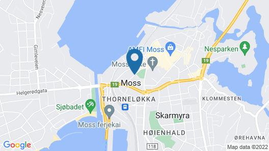 Mitt Hotell Map