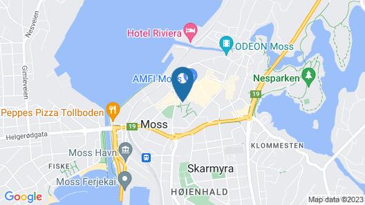 Moss Hotel Map