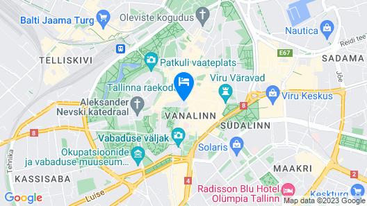 Tallinn City Apartments Town Hall Square Map