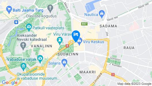 Original Sokos Hotel Viru Map