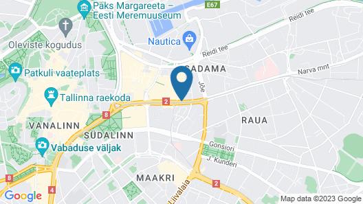 Park Inn by Radisson Central Tallinn Map