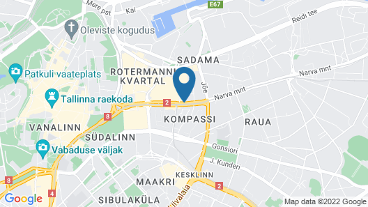 Park Inn by Radisson Central Tallinn Map