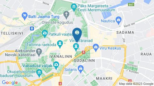 Taanilinna Hotel Map