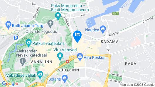 Metropol Spa Hotel Map