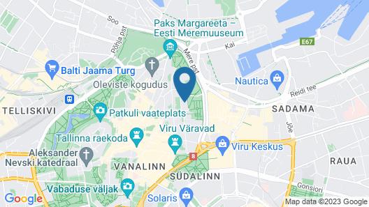 Kalev Spa Hotel & Waterpark Map