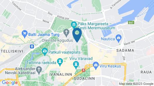 Braavo Spa Hotel Map