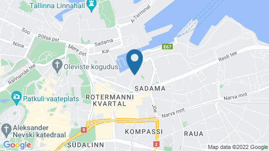 Hestia Hotel Europa Map