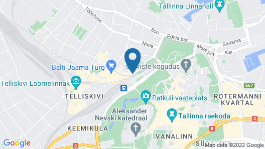 Economy Hotel Map