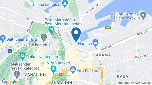 Citybox Tallinn Map