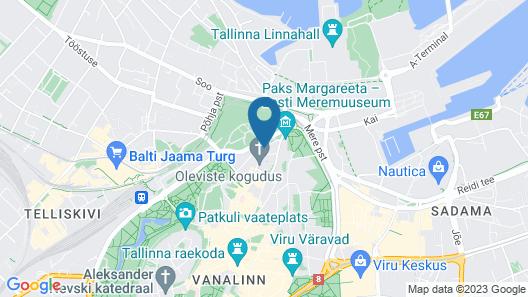 Rija Old Town Hotel Map