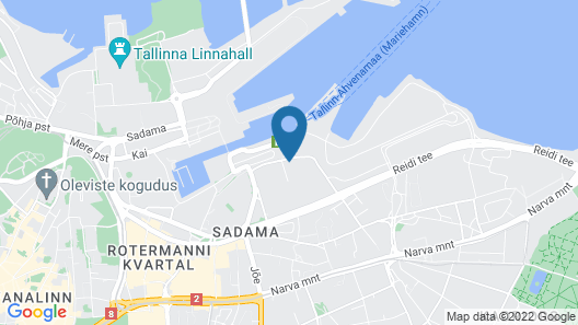 Hestia Hotel Seaport Map