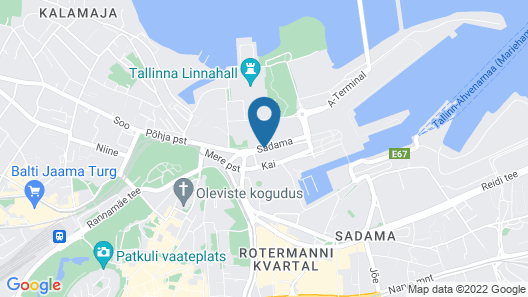 Tallink Express Hotel Map