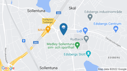 Stockholm Hotel Apartments Sollentuna Map