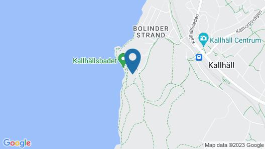 Kallhällsbaden Vandrarhem Map