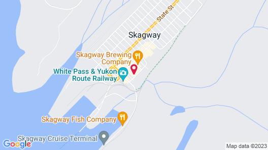 Westmark Inn Skagway Map