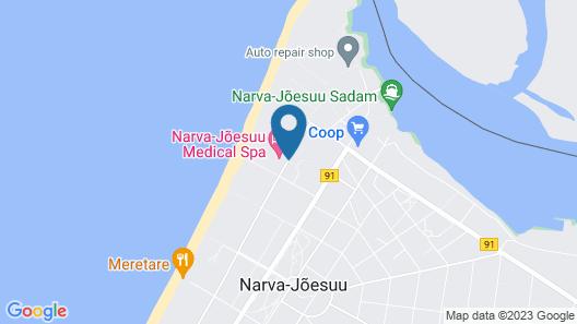Narva-Jõesuu Spa Map