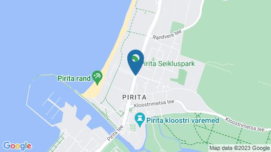 Pirita Beach Apartments & SPA Map