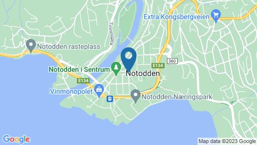 Notodden Hotel Map