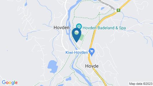 Hovdehytta Map