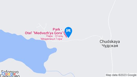 Park-Hotel Medvezhya Gora Map