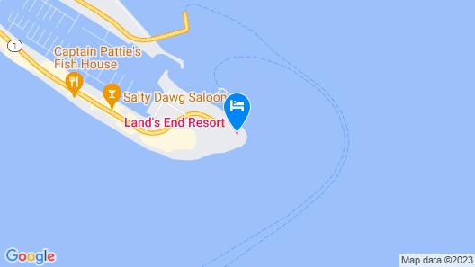 Lands End Resort Map