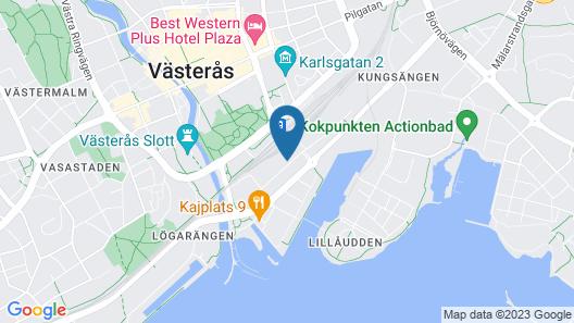Comfort Hotel Västerås Map