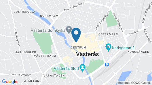 Elite Stadshotellet Västerås Map