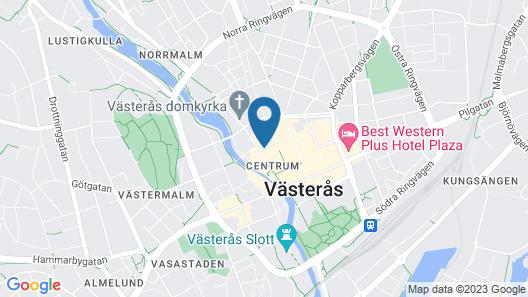 Elite Stadshotellet Västerås Map